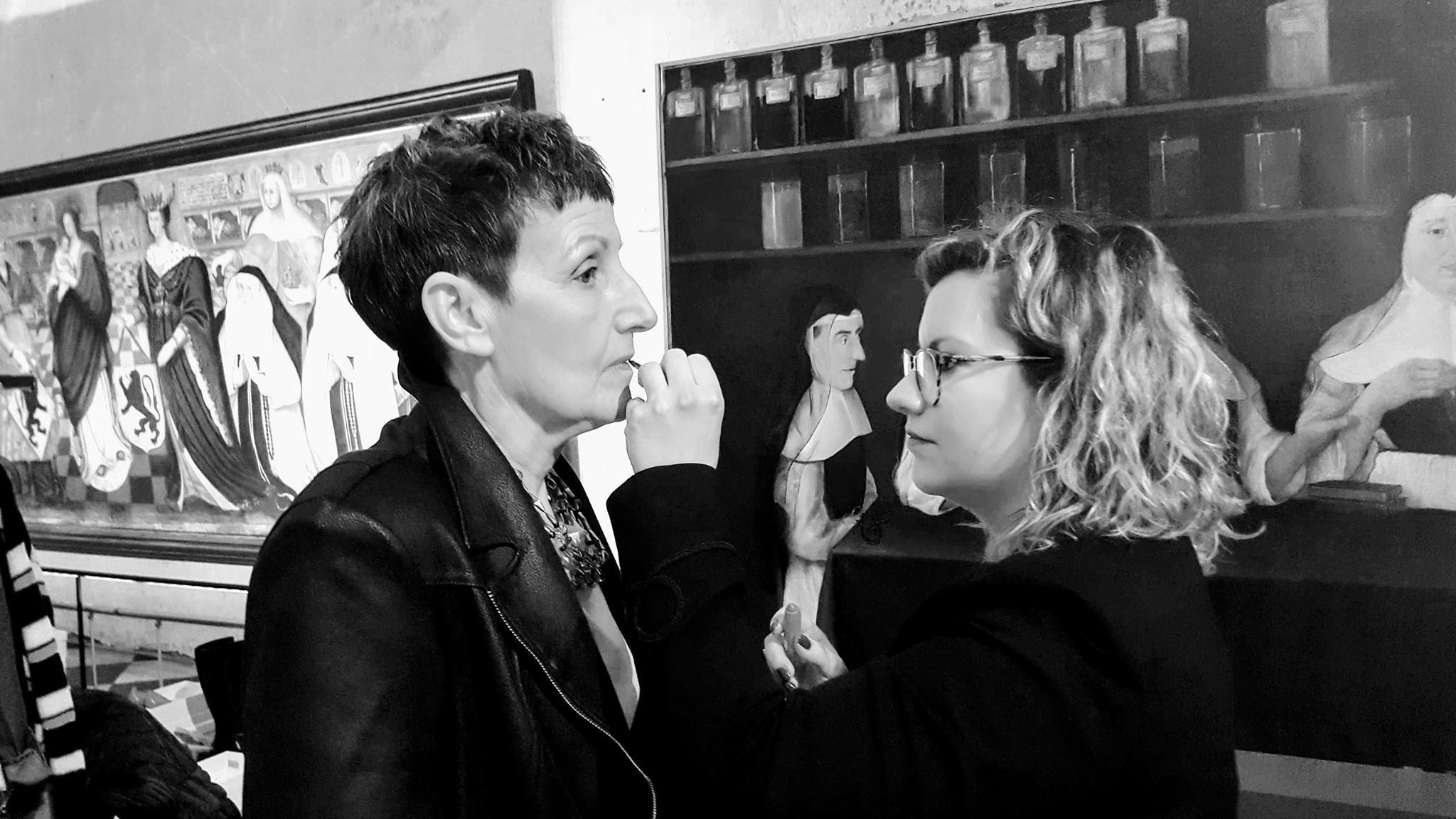 Audrey, maquilleuse pour l'association Défil'Cancer à Lille